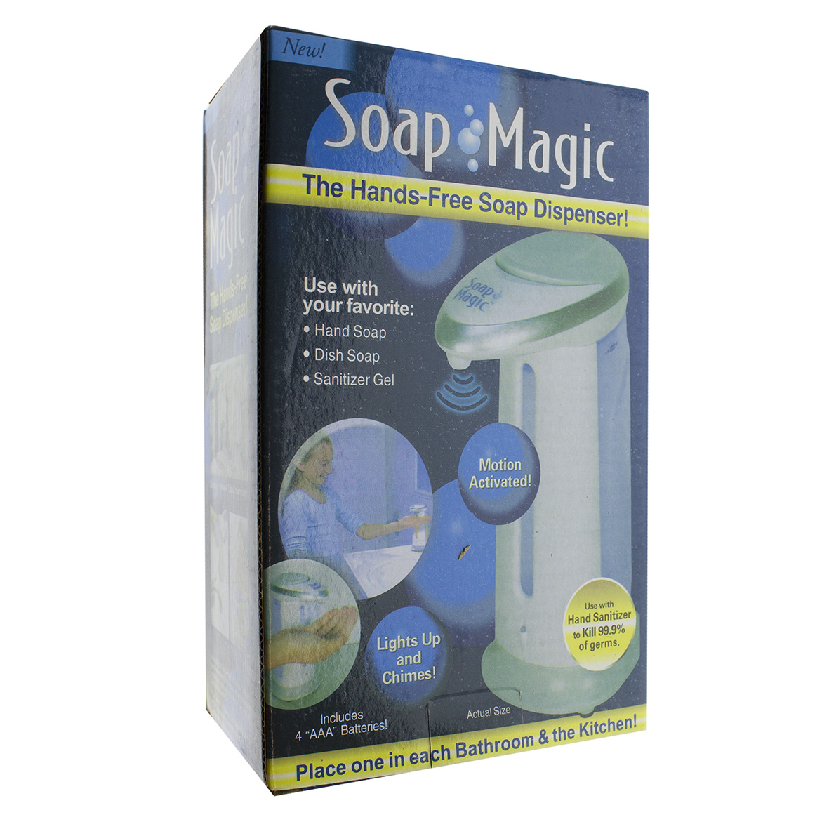 Дозатор мыла Soap Magic 00-00010394