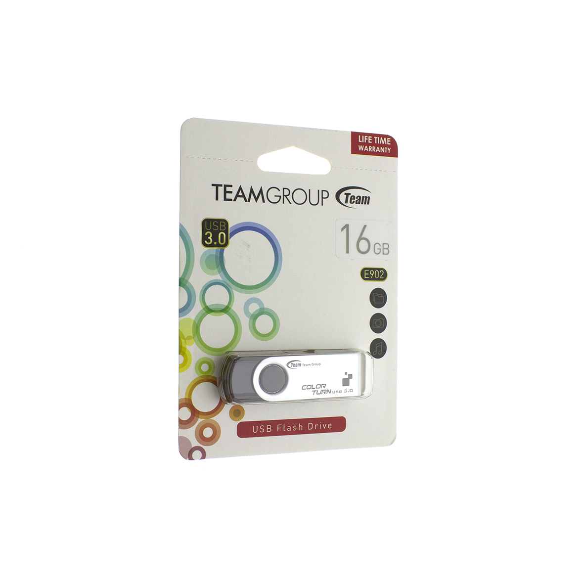 USB флешка Team Color Turn E902 3.0 16Gb 00-00009653