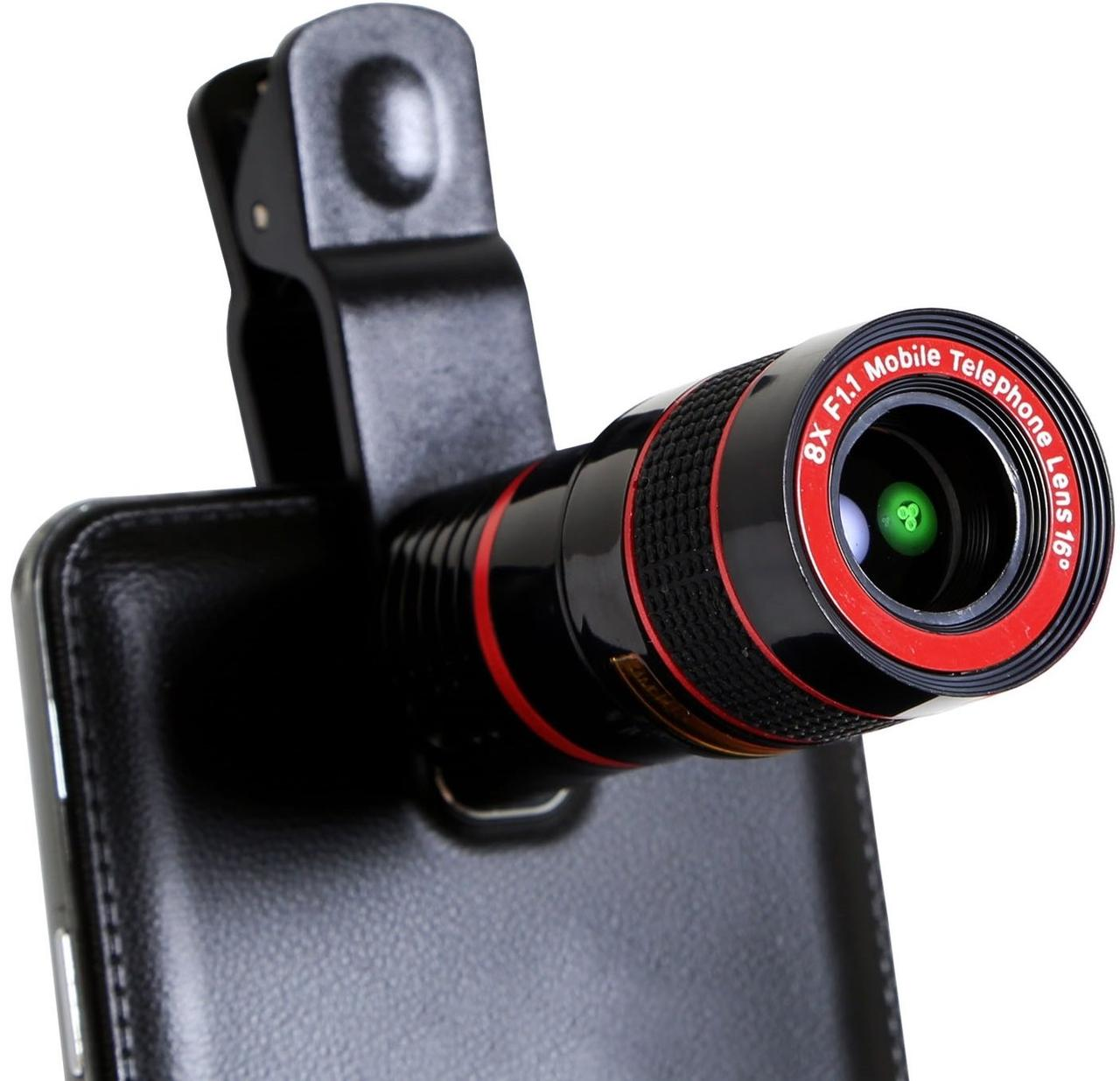 Смарт Линза 8x Zoom Mobile Phone Telescope телескоп i21837