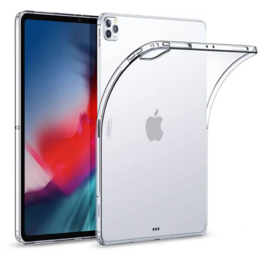 Чехол Silicone Clear for Apple Ipad Pro 11 (2020) / 11 (2018) ЦУ-00030995